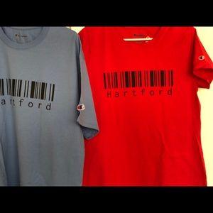 Hartftord CT shirts on Champion tees